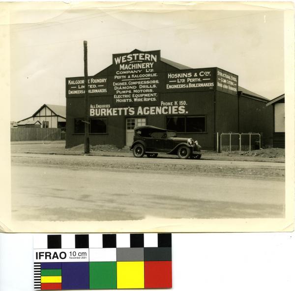 PHOTOGRAPH - WESTERN MACHINERY STORE