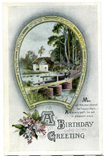 POSTCARD, Birthday