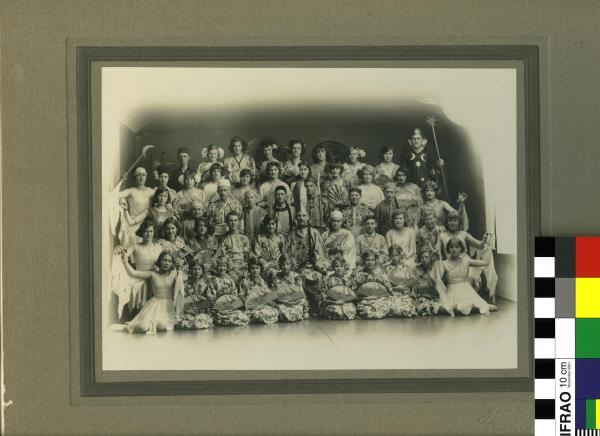 PHOTOGRAPH, children in theatrical costume
