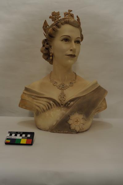 BUST, Queen Elizabeth II