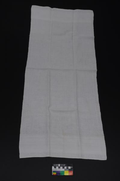 BATH TOWEL, linen, 'AG'