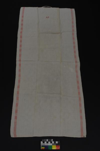 KITCHEN TOWEL, linen, 'A.F.'