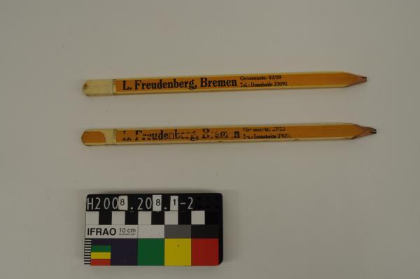 PENCIL, x2, 'L. Freudenberg Bremen…'