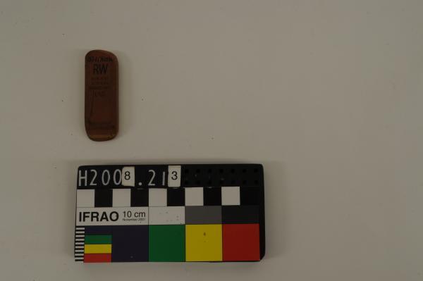 ERASER, brown-red, rubber, 'Pelikan'