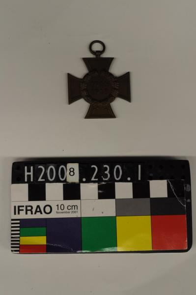 MEDAL, Cross of Honour, non-combatant
