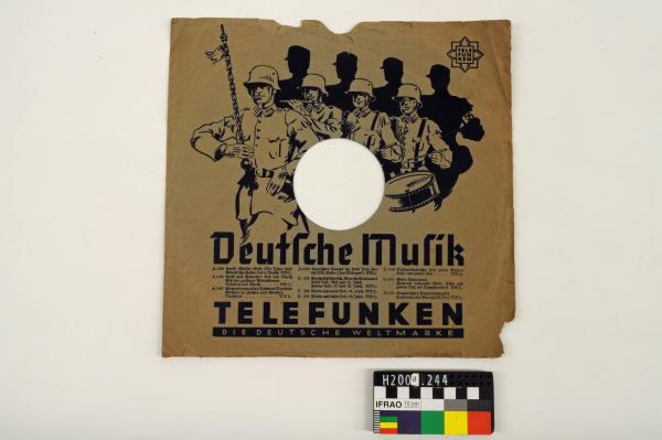 RECORD SLEEVE, 'Deutsche Musik/…/TELEFUNKEN/…'
