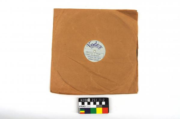 RECORD, in sleeve, 78rpm