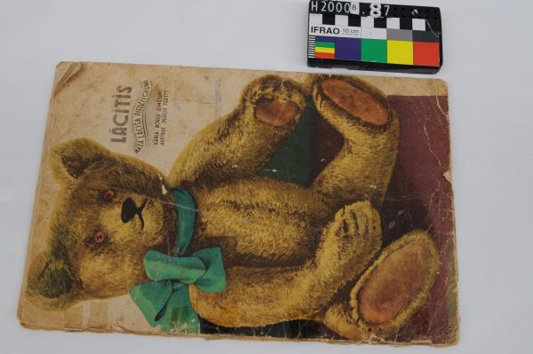 BOOK, Latvian, bear on cover, 'Lacitis Maza Lacisa Piedzivojumi'