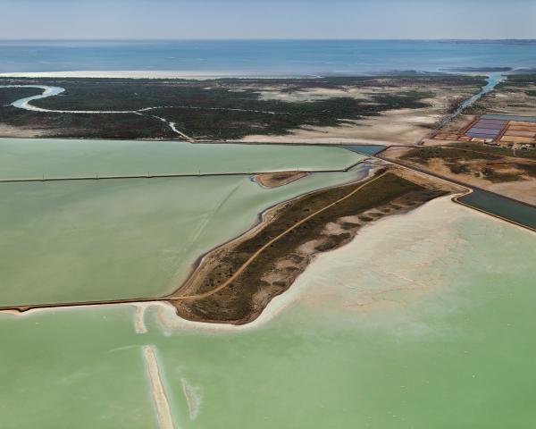 PRINT, photographic, 'Dampier Salt Ponds #1, Dampier, Western Australia, 2007', Edward Burtynsky
