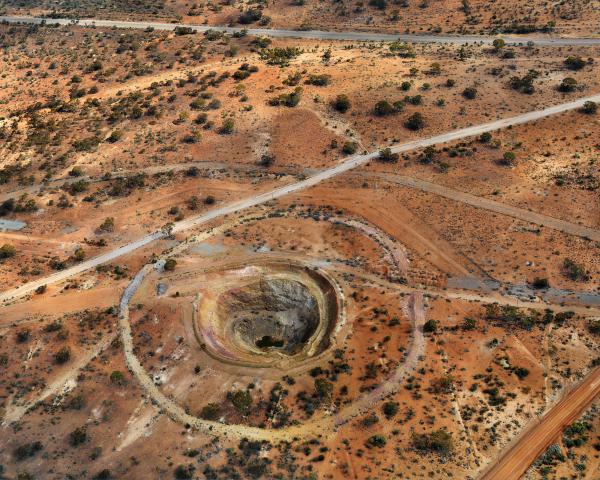 PRINT, photographic, 'Otter Juan/Coronet Mine #1, Kalgoorlie, Western Australia, 2007', Edward Burtynsky