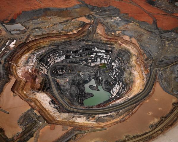 PRINT, photographic, 'Silver Lake Operations #1, Lake Lefroy, Western Australia, 2007', Edward Burtynsky