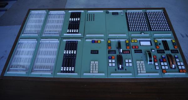 LIGHTING CONTROL DESK, 'Rank Strand', Perth Entertainment Centre, c.1973