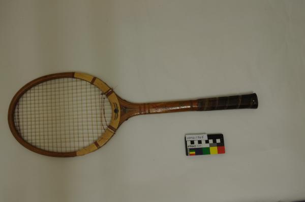 RACQUET, tennis, Dunlop, Clive Wilderspin