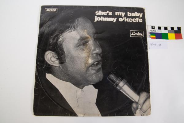RECORD COVER, LP, Johnny O'Keefe, 'She's My Baby'