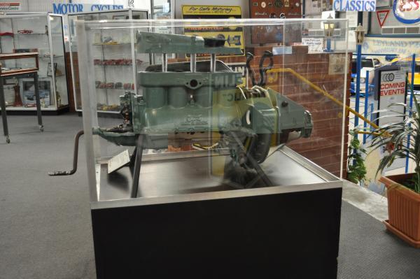 T-FORD CAR ENGINE, cut-away