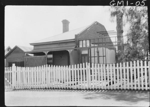 House partially demolished,'Whitely's'.