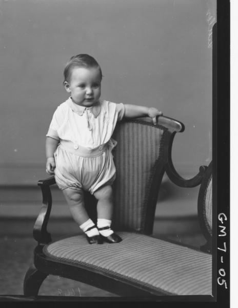 Portrait of young child, F/L Littler.