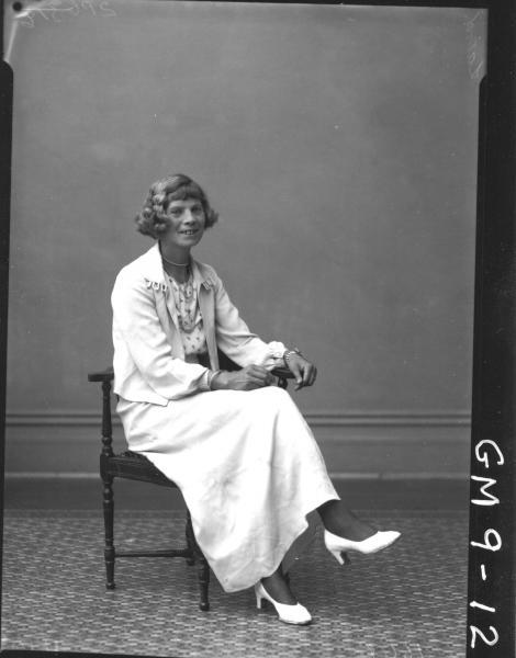 Portrait of woman, F/L Laird.