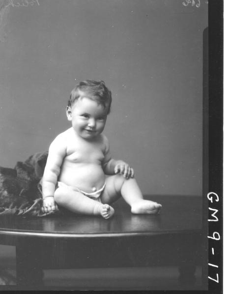 Portrait of baby, Polich.
