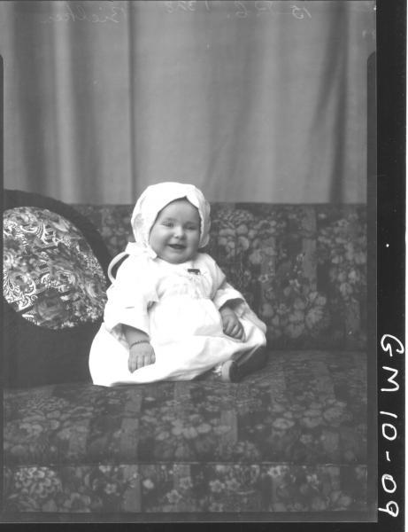 Portrait of baby, F/L Bielken.