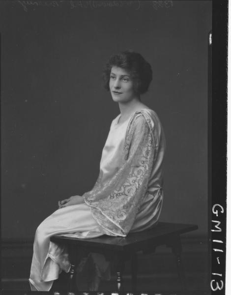 Portrait of young woman, 'Brearey'