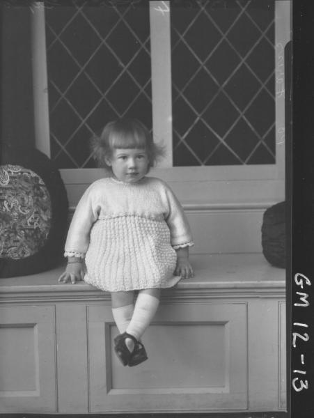 Portrait of child, F/L 'Fariss'