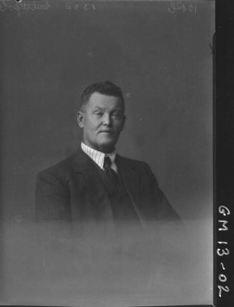 Portrait of man, H/S 'Catchpole'