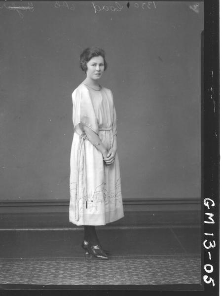 Portrait of young woman, F/L 'Coad'