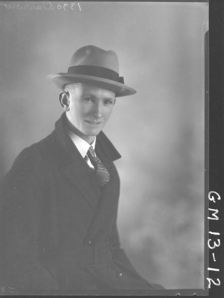 Portrait of man, H/S 'Darron'