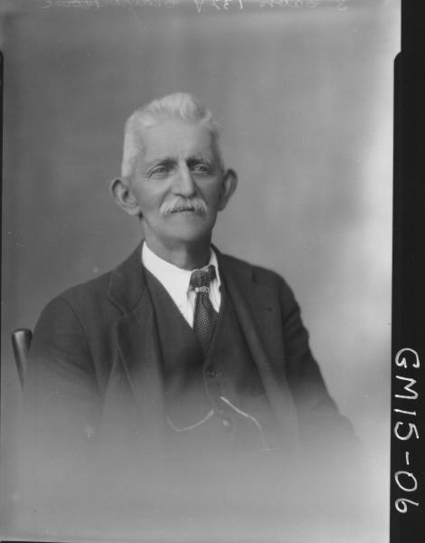 portrait of old man H/S, 'Clayton'