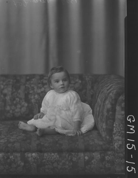 portrait of baby F/L, 'Cox'