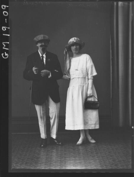 portrait of woman and man F/L, 'Howard'