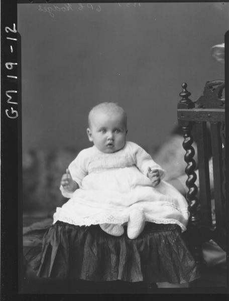 portrait of baby F/L, 'Hodges'