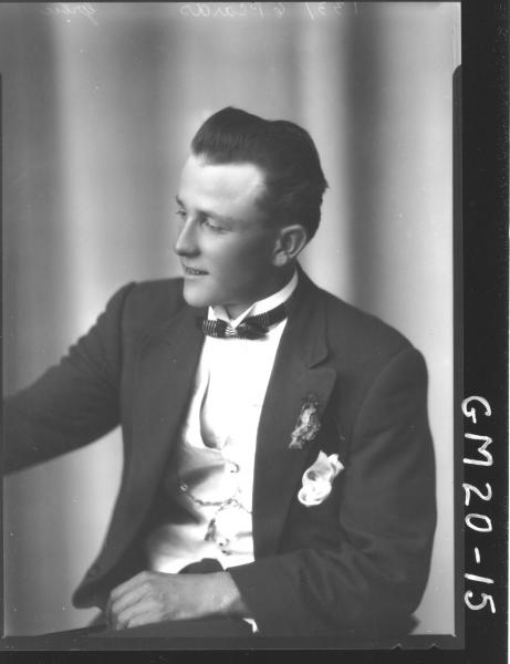 portrait of young man H/S, Grbic/Grevic