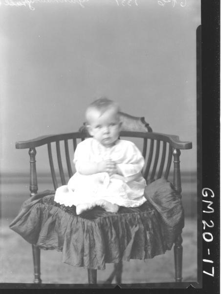 portrait of baby, Gannaway
