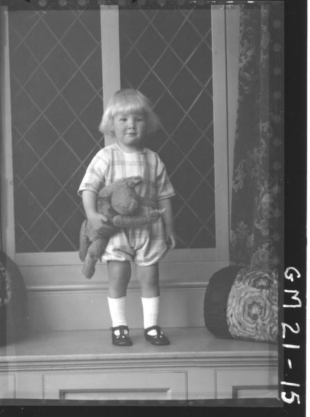 portrait of young child F/L, Jensen