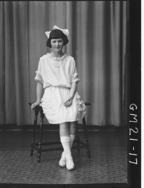 poratrait of young girl F/L, Joyce