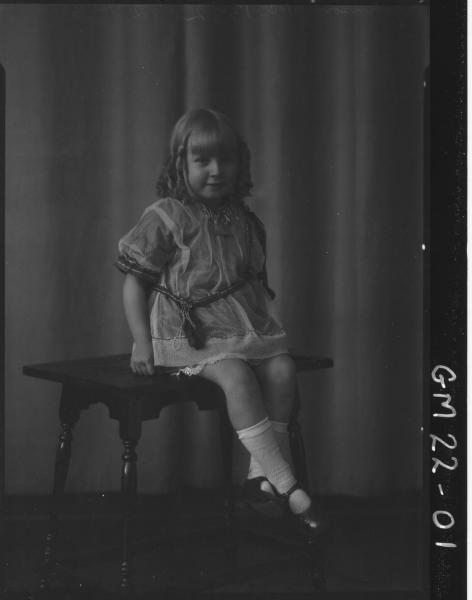portrait of young child F/L, Johnson