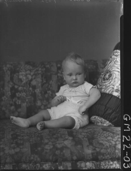 portrait of baby, Hocking