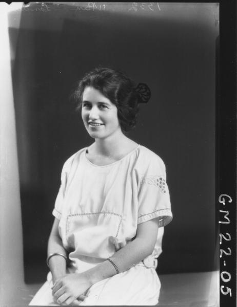 portrait of young woman H/S, Landers/Launders