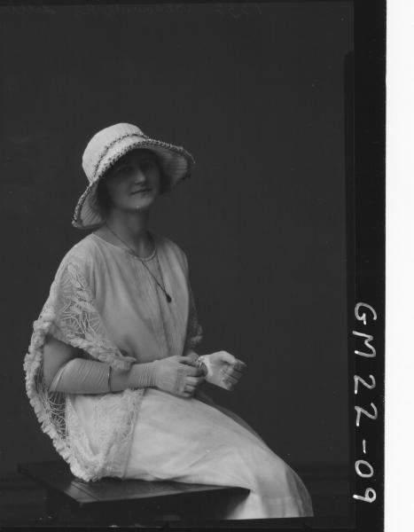 portrait of young woman, Lillis