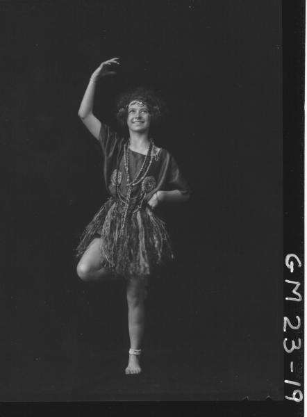 portrait of young woman in dance costume F/L, Harrington