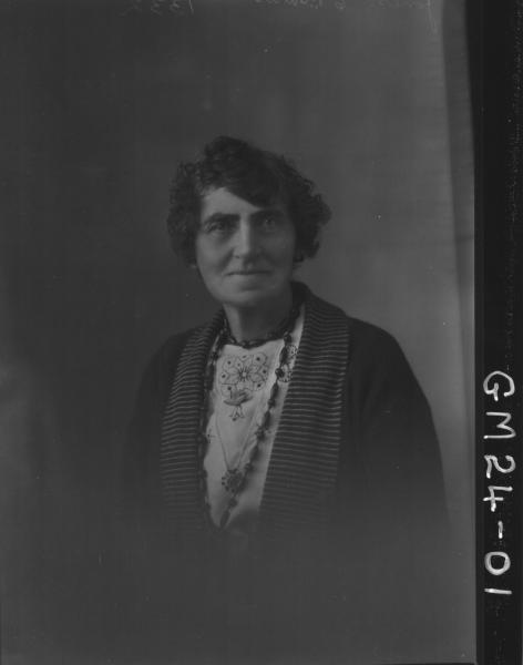 portrait of woman H/S, Jones