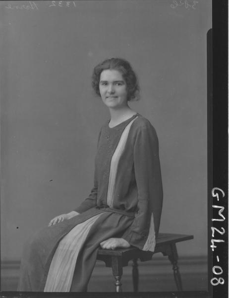 portrait of young woman, Horne/Nurse