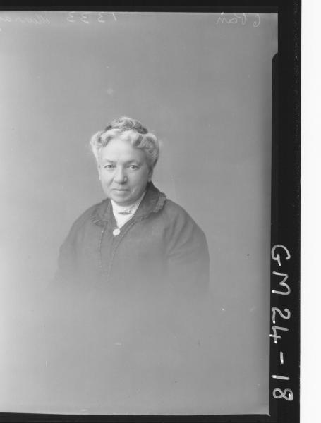 portrait of woman H/S, Murray
