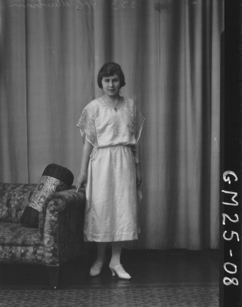 portrait of young woman F/L, Mewburn