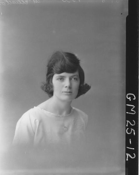 portrait of young woman H/S, McElliatton