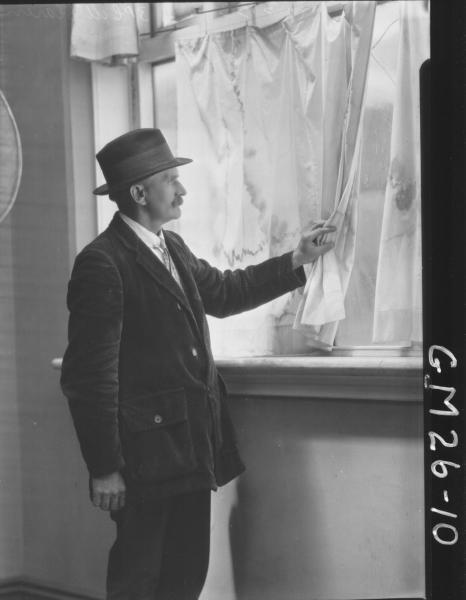 portrait of elderly man F/L, McClaren