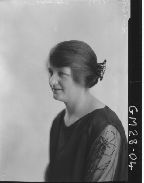 portrait of woman, H/S Oldfield