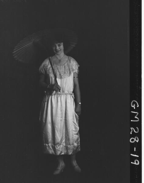 portrait of young woman, F/L Rita POLLOCK nee Walker.